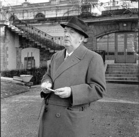 Vladimir Nabokov, ca. 1967. Fotografía por Giséle Freund