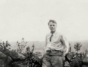 Robert Frost en Inglaterra entre 1912-1915