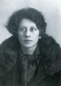 Vera Nabokov, mediados del decenio de 1920.