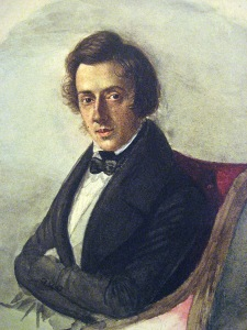 Chopin at 25, by his fiancée Maria Wodzińska, 1835