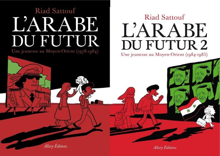 l'arabe du futur 1 et 2