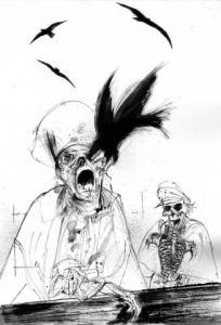 Ilustración de Luis Scafati